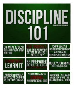 Discipline-101